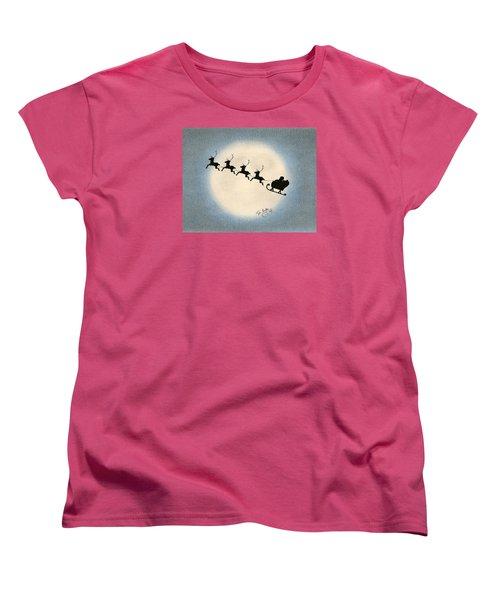 Flight 1224 Women's T-Shirt (Standard Cut) by Troy Levesque