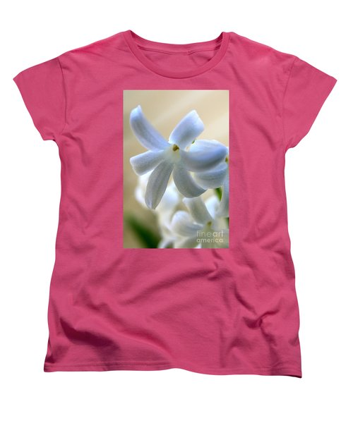 Floral Peace No.2 Women's T-Shirt (Standard Cut) by Neal Eslinger