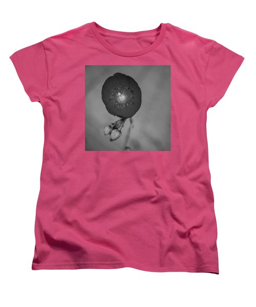 Women's T-Shirt (Standard Cut) featuring the photograph Flower Unknown by Ron White