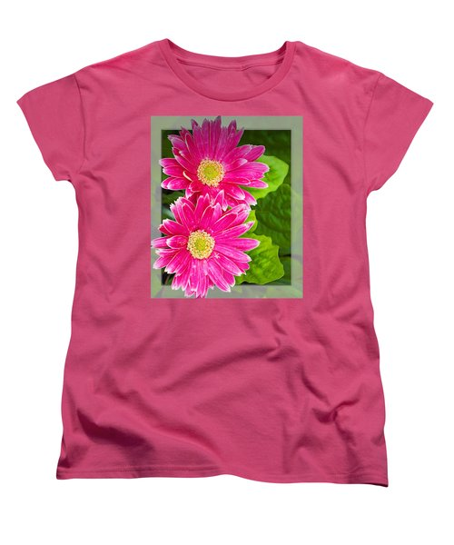 Flower1 Women's T-Shirt (Standard Cut) by Walter Herrit