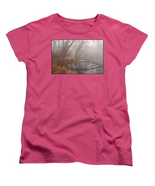 Foggy Fall Morning Women's T-Shirt (Standard Cut)