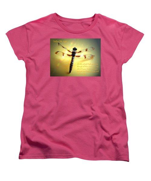 Follow The Light Women's T-Shirt (Standard Cut) by Joyce Dickens