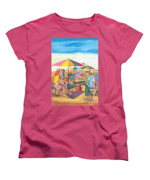 Food Market In Cameroon Women's T-Shirt (Standard Cut)