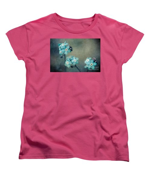 Forget Me Not 01 - S22dt06 Women's T-Shirt (Standard Cut) by Variance Collections
