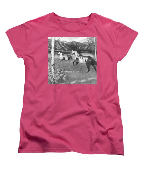 Freedom Run Women's T-Shirt (Standard Cut)