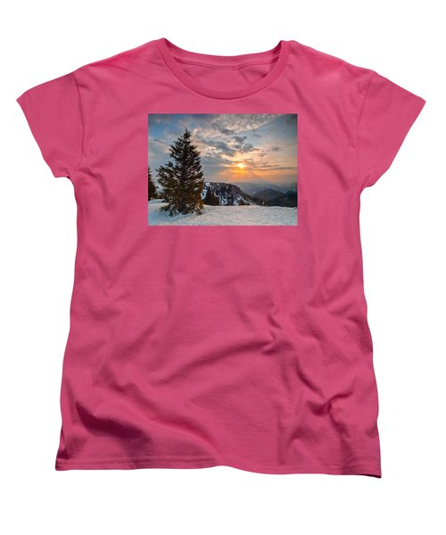 Fresh Morning Women's T-Shirt (Standard Cut) by Davorin Mance