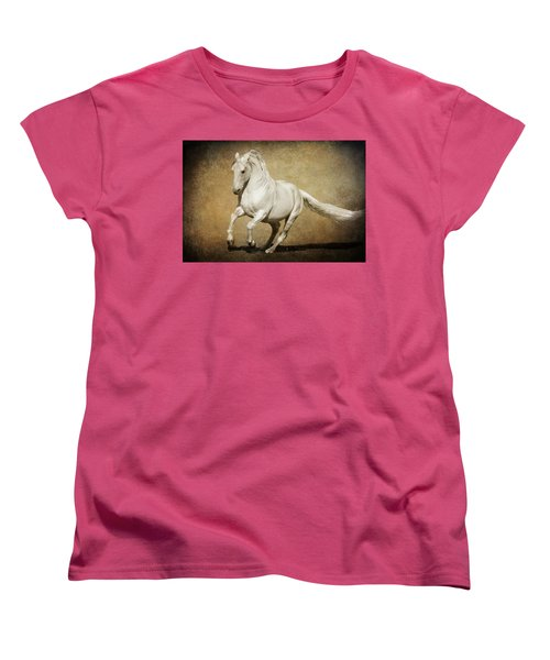 Full Steam Ahead Women's T-Shirt (Standard Cut) by Wes and Dotty Weber