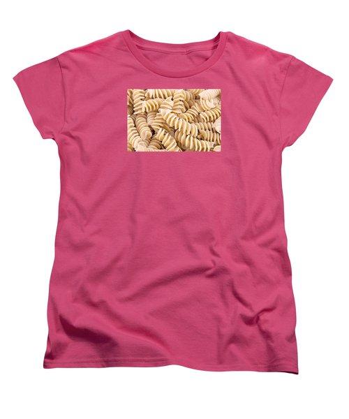 Fusilli Rotini Pasta  Women's T-Shirt (Standard Cut) by Vizual Studio
