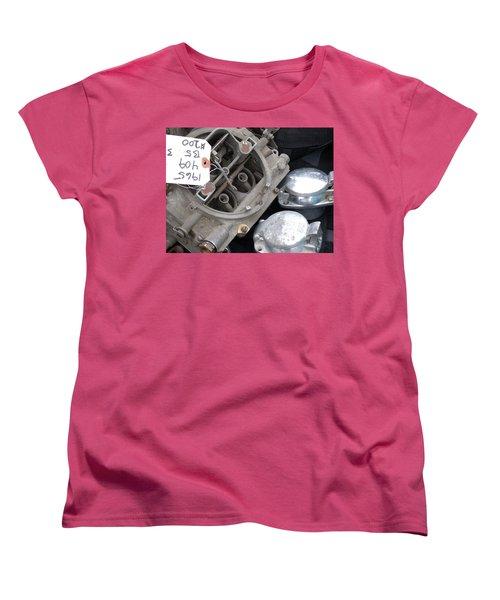 Gas In Women's T-Shirt (Standard Cut) by David S Reynolds