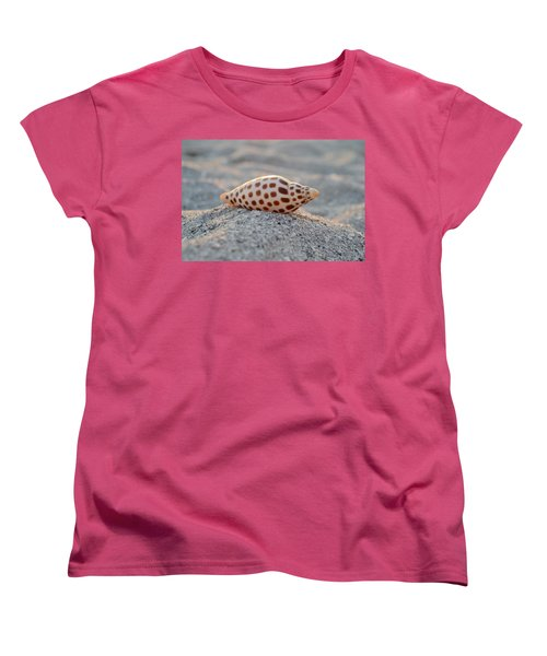 Women's T-Shirt (Standard Cut) featuring the photograph Gift From The Sea by Melanie Moraga