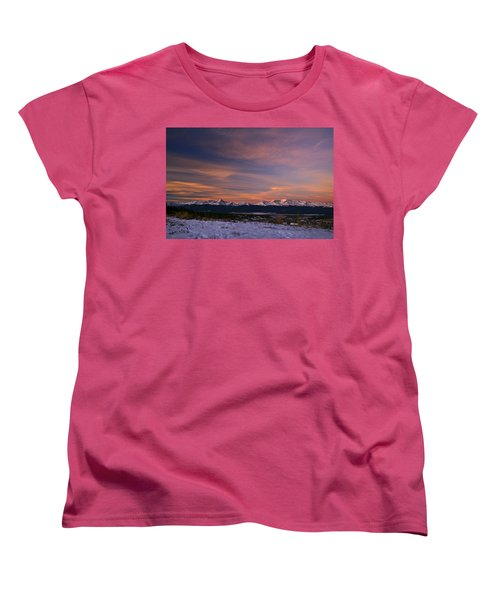 Glow Of Morning Women's T-Shirt (Standard Cut) by Jeremy Rhoades