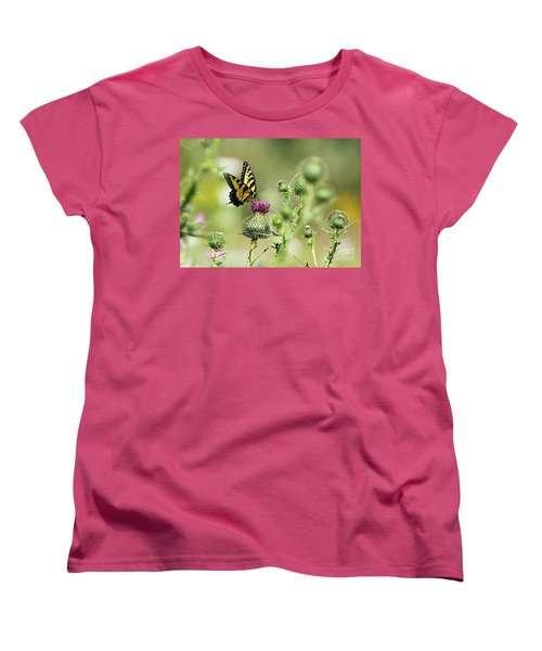 Women's T-Shirt (Standard Cut) featuring the photograph Gods Creation-19 by Robert Pearson