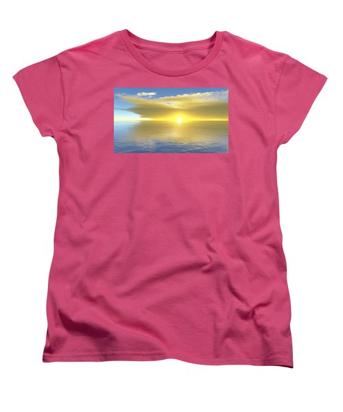 Gold Coast Women's T-Shirt (Standard Cut) by Mark Greenberg