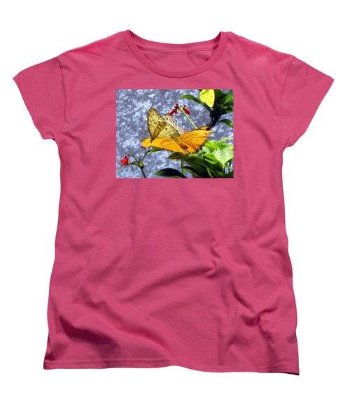 Gold On Gold Women's T-Shirt (Standard Cut) by Jennifer Wheatley Wolf