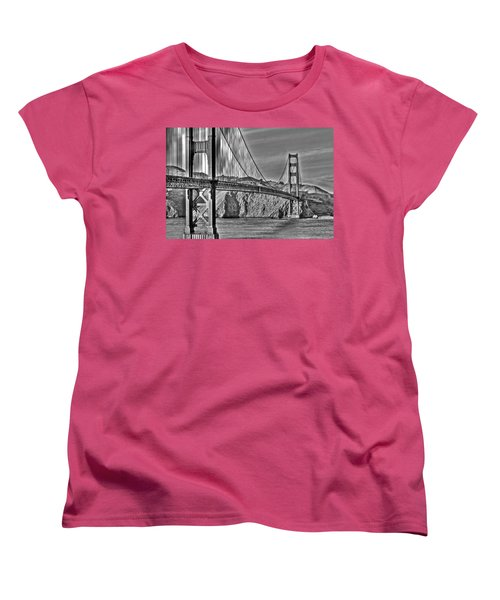 Golden Gate Over The Bay 2 Women's T-Shirt (Standard Cut)