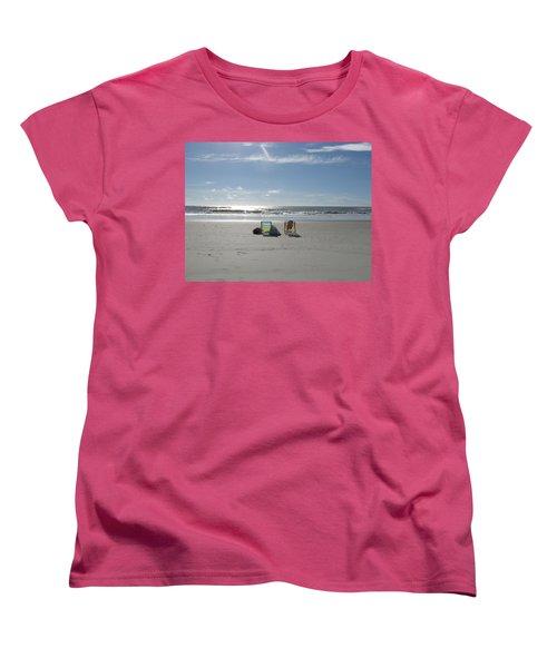 Gone For A Walk Women's T-Shirt (Standard Cut)