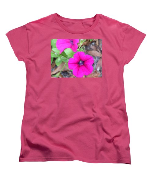 Women's T-Shirt (Standard Cut) featuring the photograph Good Morning by Andrea Anderegg