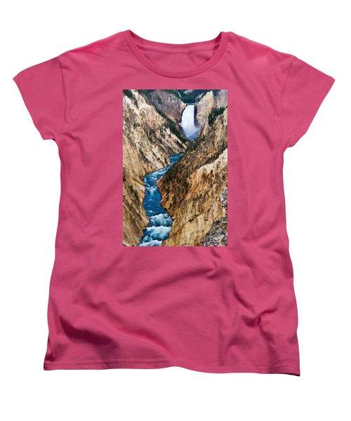 Grand Canyon Of Yellowstone Women's T-Shirt (Standard Fit)
