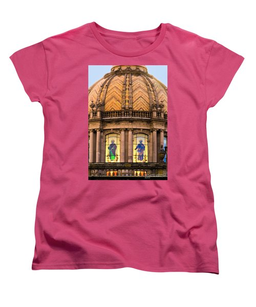 Women's T-Shirt (Standard Cut) featuring the photograph Grand Cathedral Of Guadalajara by David Perry Lawrence