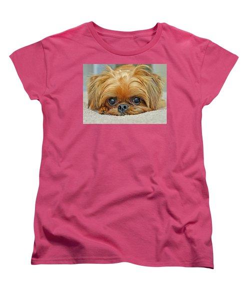 Women's T-Shirt (Standard Cut) featuring the photograph Griff by Lisa Phillips