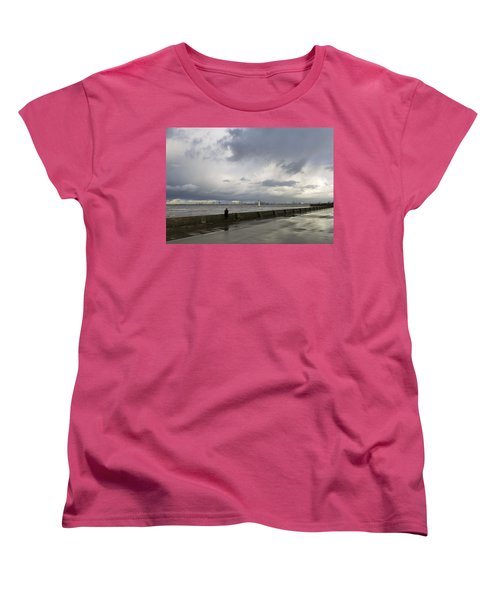 Guy In The Red Trousers Women's T-Shirt (Standard Cut) by Spikey Mouse Photography
