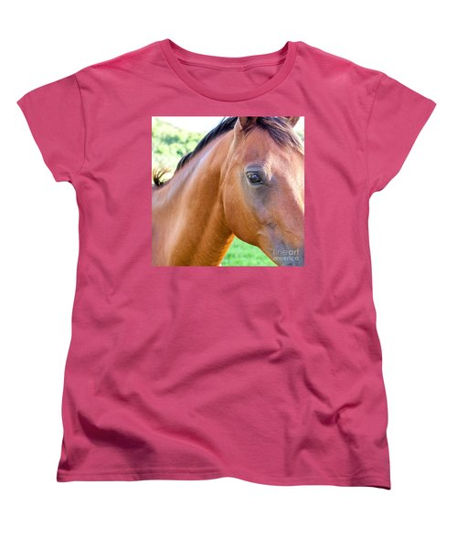 Women's T-Shirt (Standard Cut) featuring the photograph Hello Beauty by Roselynne Broussard