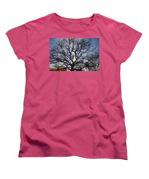 Here Comes The Sun Women's T-Shirt (Standard Cut) by Jeff Kolker