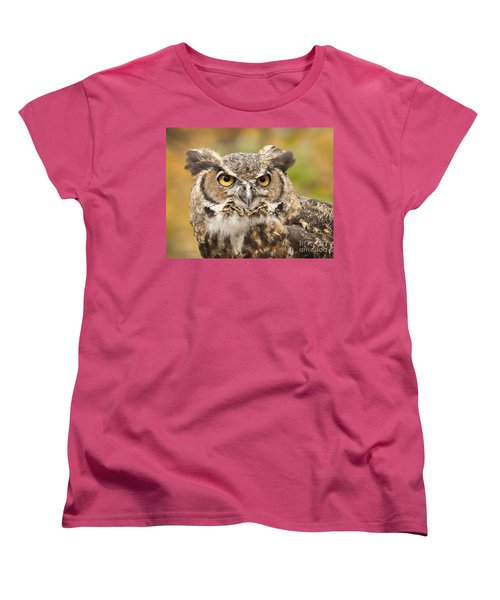 Women's T-Shirt (Standard Cut) featuring the photograph Here's Looking At You by Carol Lynn Coronios