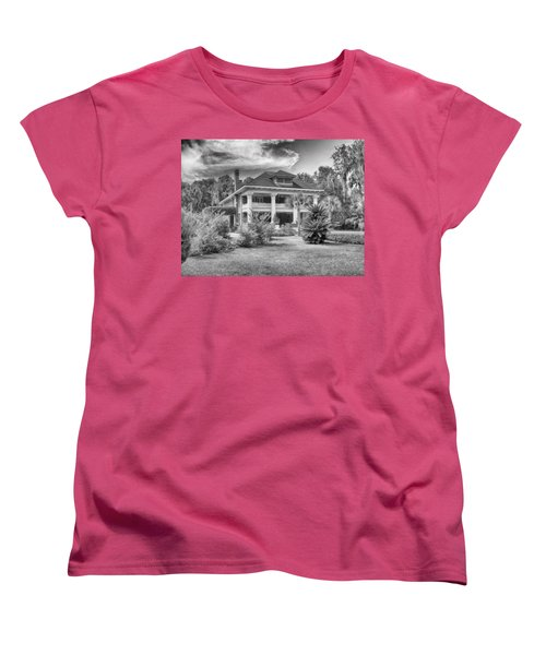 Women's T-Shirt (Standard Cut) featuring the photograph Herlong Mansion by Howard Salmon