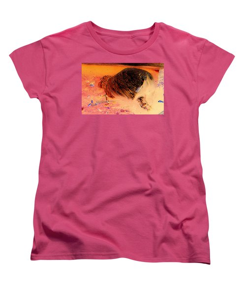Women's T-Shirt (Standard Cut) featuring the photograph Hippo Elegance by Antonia Citrino
