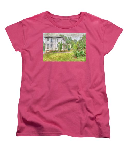 Home Is Where The Heart Is Women's T-Shirt (Standard Cut) by Liane Wright