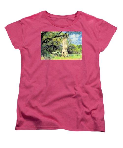 Forgotten Homestead  Women's T-Shirt (Standard Cut) by Janette Boyd