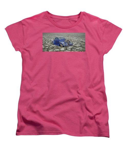 Hot Rod Mirage Women's T-Shirt (Standard Cut) by Steve McKinzie