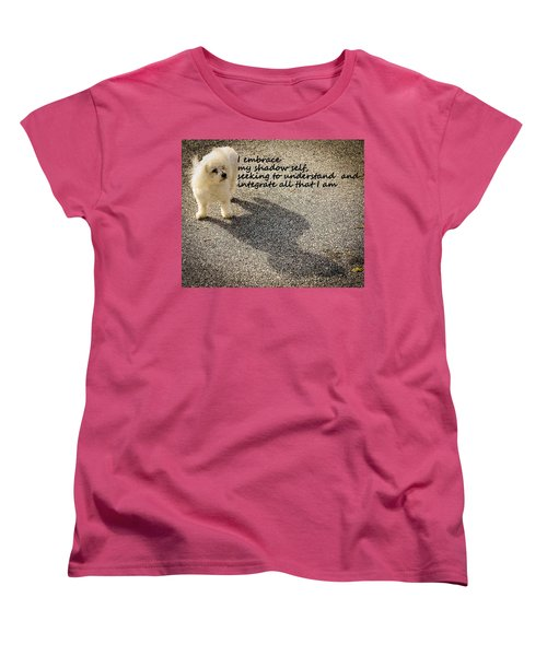I Embrace Women's T-Shirt (Standard Cut) by Patrice Zinck