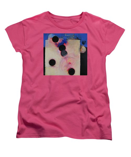 Women's T-Shirt (Standard Cut) featuring the painting I Smell Chocolate  by Cliff Spohn