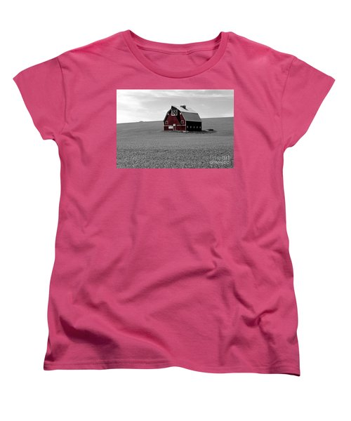 Women's T-Shirt (Standard Cut) featuring the photograph Icon Of The Palouse by Sharon Elliott