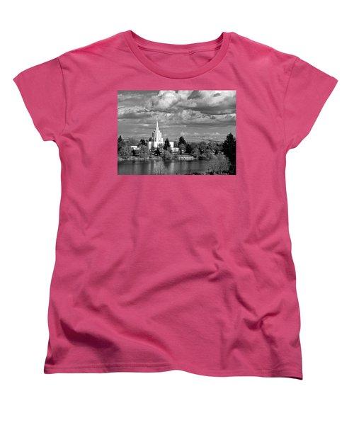 Idaho Falls Temple Women's T-Shirt (Standard Cut) by Eric Tressler
