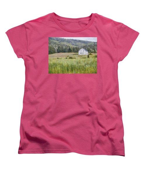 Idyllic Isolation Women's T-Shirt (Standard Cut) by Jeff Kolker