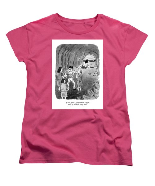 If This Doesn't Distract Women's T-Shirt (Standard Cut) by Danny Shanahan