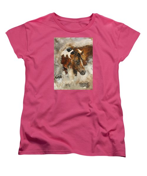 In Stores Only Women's T-Shirt (Standard Cut) by Barbie Batson