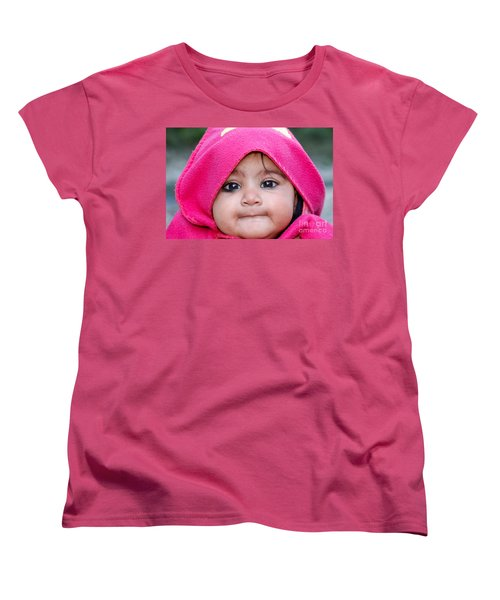 Innocence Women's T-Shirt (Standard Cut) by Fotosas Photography