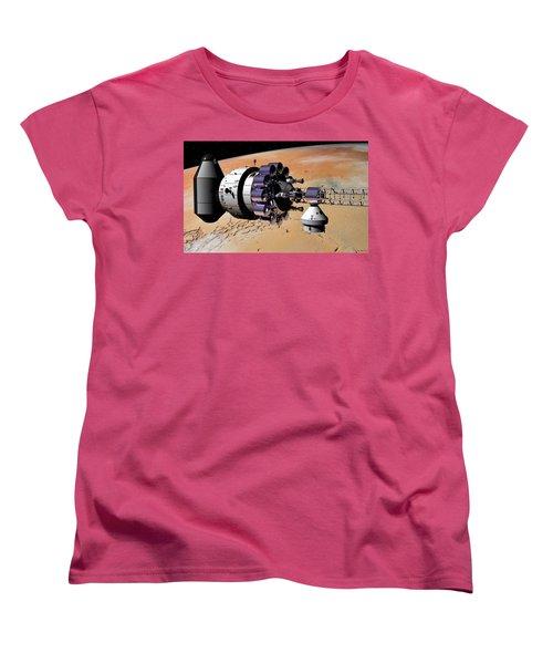 Inspection Over Mars Women's T-Shirt (Standard Cut) by David Robinson