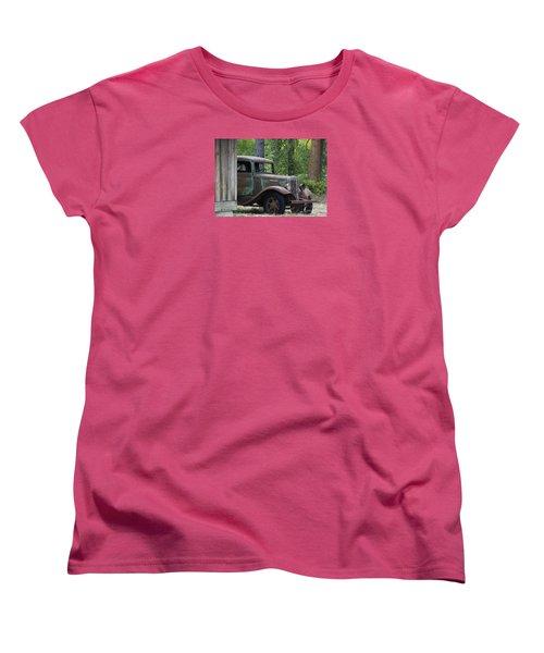 International At Cle Elum Women's T-Shirt (Standard Cut) by Jean OKeeffe Macro Abundance Art