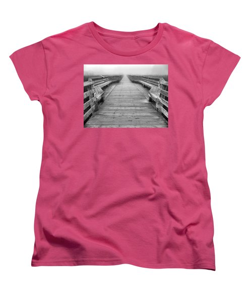 Into The Fog Women's T-Shirt (Standard Cut) by Cheryl Hoyle
