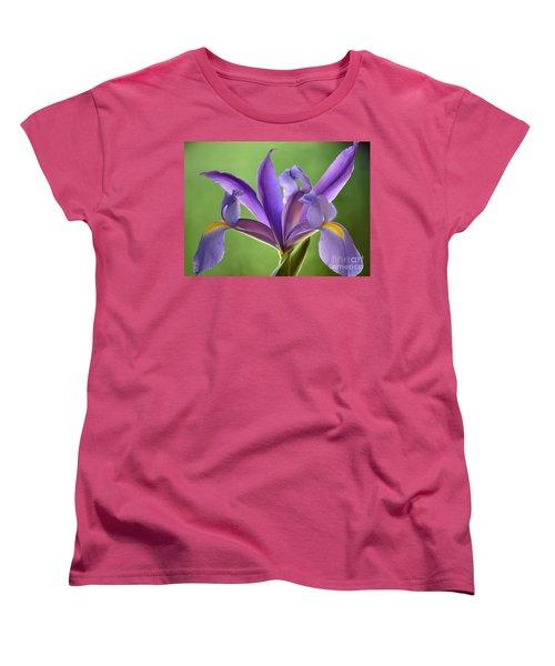 Iris Elegance Women's T-Shirt (Standard Cut) by Deb Halloran