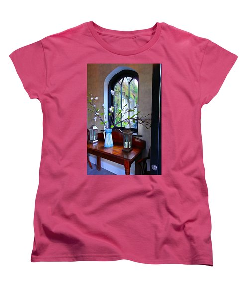 Women's T-Shirt (Standard Cut) featuring the photograph Irish Elegance by Charlie and Norma Brock