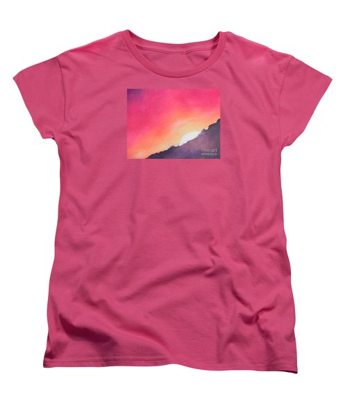 It's Not About The Climb  Rather What Awaits You On The Other Side Women's T-Shirt (Standard Cut) by Chrisann Ellis