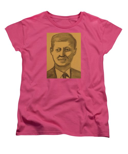 President Kennedy Women's T-Shirt (Standard Cut)