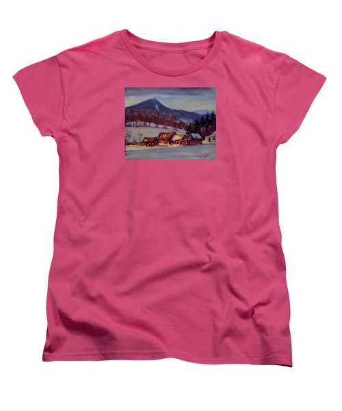 Jimmie's Place Women's T-Shirt (Standard Cut) by Len Stomski