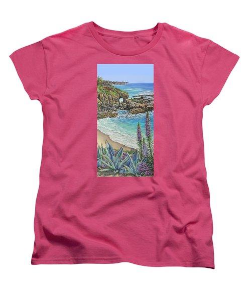 Keyhole Rock Laguna Women's T-Shirt (Standard Cut)